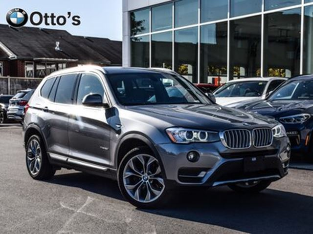 2017 BMW X3 xDrive28i NAV, LEATHER ROOF in