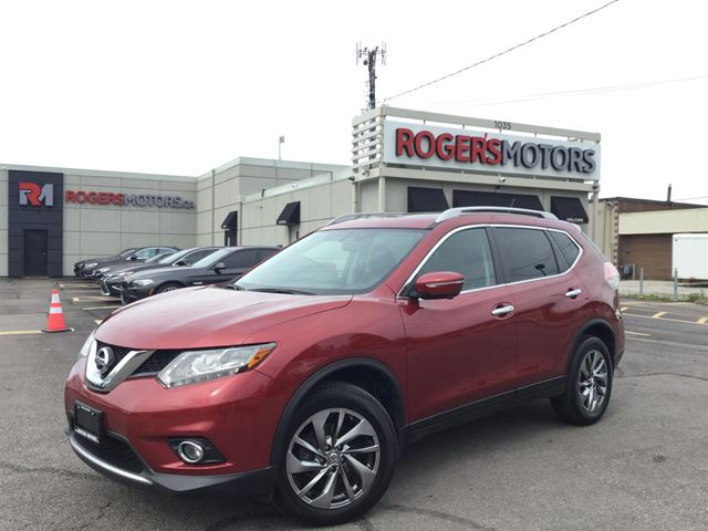 2015 NISSAN ROGUE SL AWD - NAVI - PANO ROOF - LEATHER in Oakville, Ontario