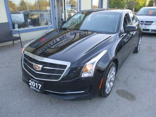 2017 Cadillac ATS ALL-WHEEL DRIVE LUXURY EDITION 5 PASSENGER 2.0L in