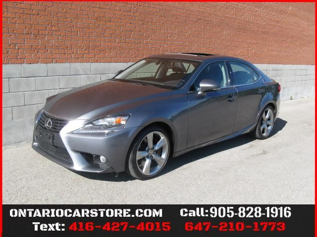 2014 Lexus IS 350 AWD NAVIGATION SUNROOF !!!NO ACCIDENTS!!! in