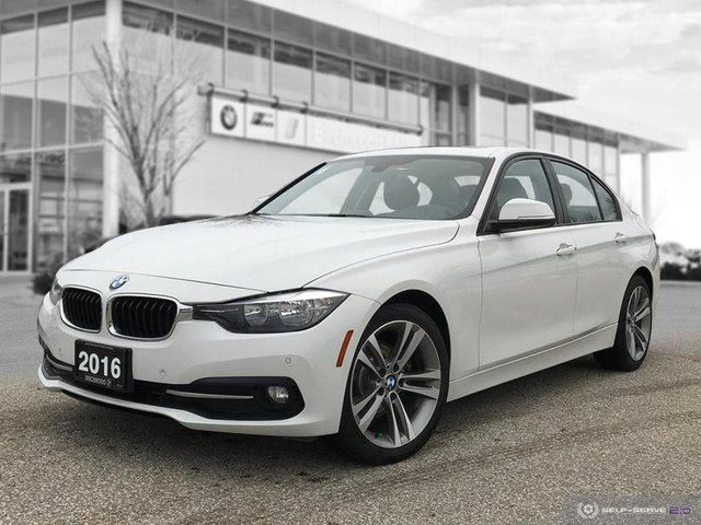 2016 BMW 3 SERIES 320i xDrive All Wheel Drive! in Winnipeg, Manitoba