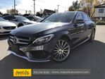 2015 Mercedes-Benz C-Class LEATHER  PANO ROOF  NAVI  BLIS in Ottawa, Ontario
