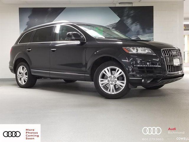 2012 AUDI Q7 3.0 Premium in Richmond, British Columbia