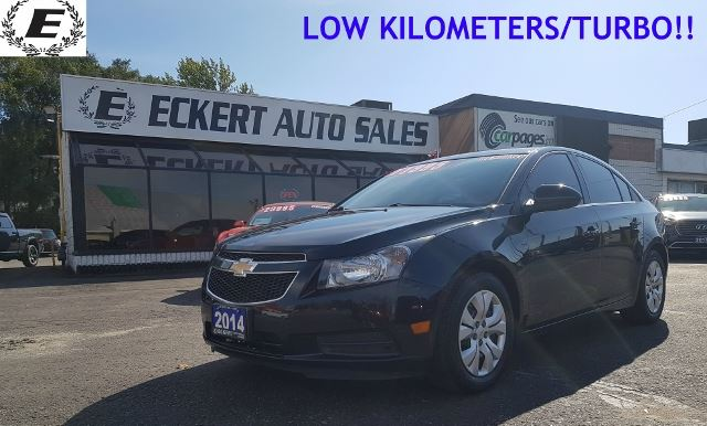 2014 Chevrolet Cruze 1LT WITH 1.4L TURBO ENGINE/LOW KILOMETERS!! in