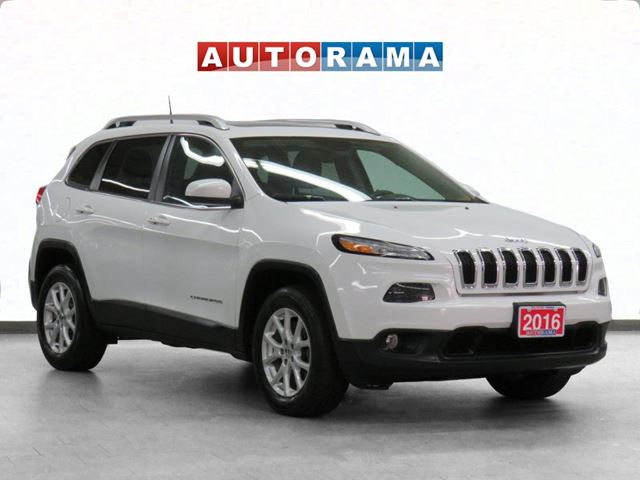 2016 Jeep Cherokee 4x4 North Panoramic Sunroof Navigation Backup Cam in
