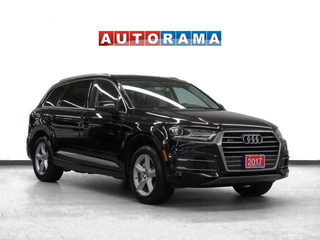 2017 Audi Q7 4WD Nav Leather Pano-Sunroof Bcam 7Pass in