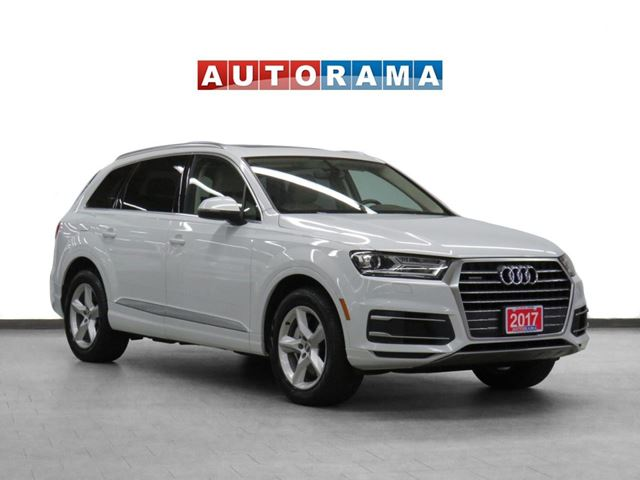 2017 Audi Q7 4WD Nav Leather Sunroof Backup Cam 7Pass in