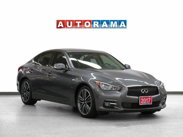 2017 Infiniti Q50 4WD Navigation Leather Sunroof Backup Cam in