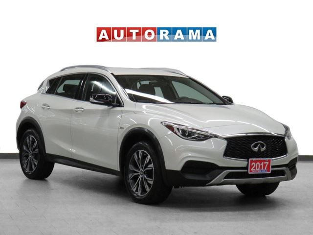 2017 Infiniti QX30 4WD Leather Sunroof Backup Cam in