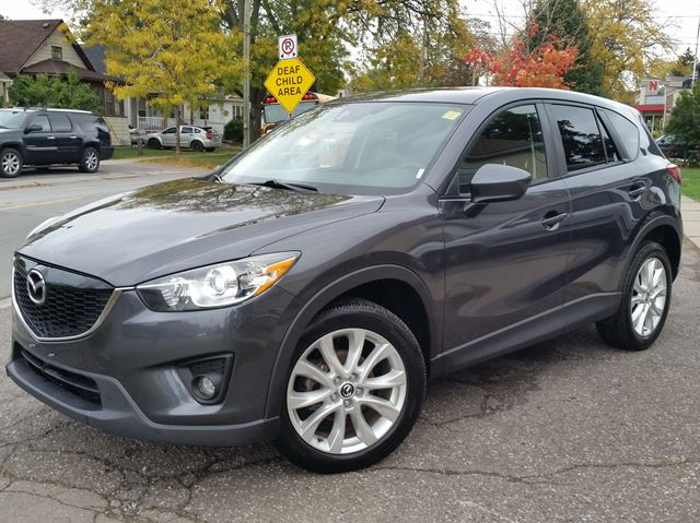 2014 MAZDA CX-5 GT AWD Leather Navigation Sunroof Low Km's!!! in St Catharines, Ontario