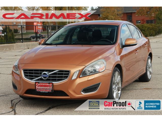 2011 Volvo S60 T6 AWD  T6   Leather   Sunroof in Kitchener, Ontario