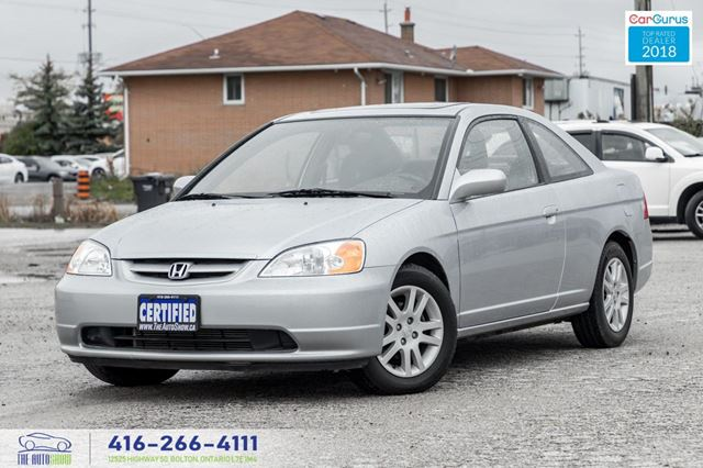 2002 Honda Civic Si M-5 1 Owner Clean Carfax Certified Serviced 74k in Toronto, Ontario