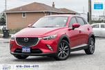 2016 Mazda CX-3 GT AWD Nav CleanCarfax 1owner Certified We Finance in Toronto, Ontario