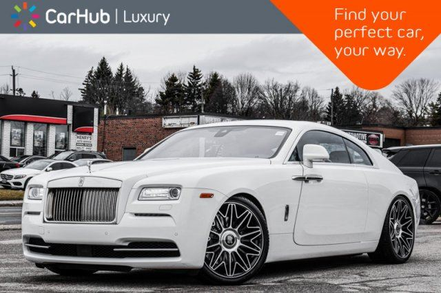 2016 ROLLS-ROYCE WRAITH Starlight_Headliner Suicide_Doors Keyless_Go Navigation  in Thornhill, Ontario