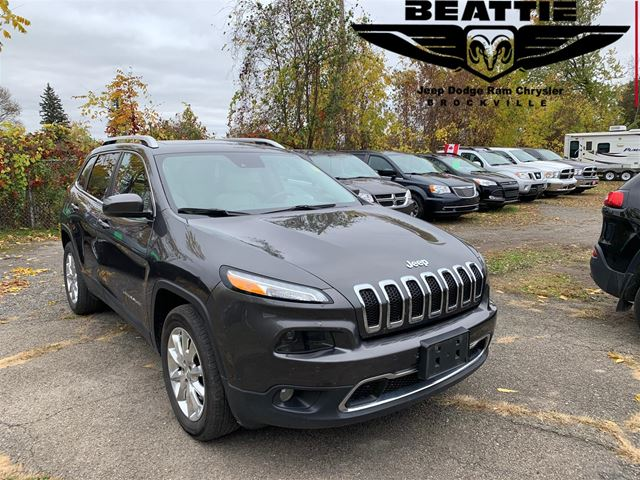 2017 Jeep Cherokee Limited PANO SUNROOF/ NAV/SAFETY TECH   in
