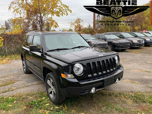 2016 Jeep Patriot HIGH ALTITUDE ONE OWNER/ LEATHER/ HEATED SEATS  in
