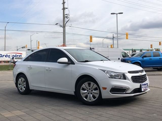 2015 Chevrolet Cruze 1LT**BACK UP CAM**BLUETOOTH**remote start in Mississauga, Ontario