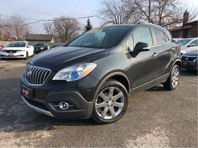 2014 BUICK ENCORE Htd Leather   AWD   Power Hatch   Bluetooth in St Catharines, Ontario