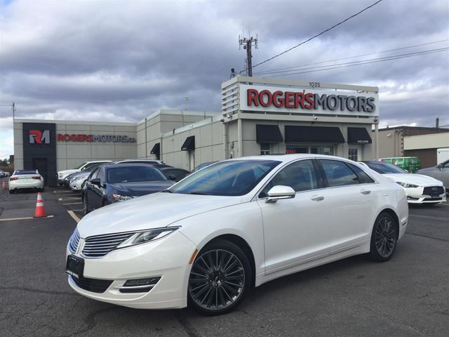 2015 LINCOLN MKZ 3.7 AWD - NAVI - SUNROOF - LEATHER  in Oakville, Ontario