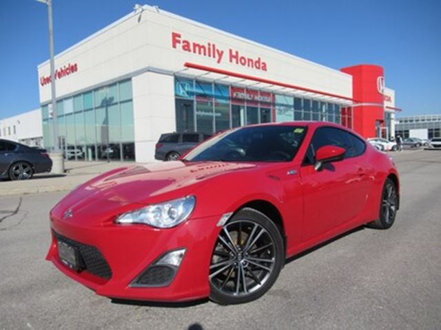 2014 SCION FR-S BLUETOOTH   FREE MATS   RED INTERIOR STITCHING in Brampton, Ontario