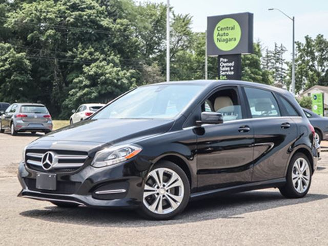 2016 MERCEDES-BENZ B-CLASS 4MATIC-AWD   LEATHER   REMOTE KEYLESS ENTRY in Fonthill, Ontario