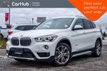 2017 BMW X1 xDrive28i Navi Pano Sunroof Backup Cam Bluetooth Heated Seats 18Alloy Rims in Bolton, Ontario