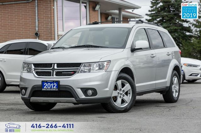 2012 Dodge Journey 7-Seater V6 Spotless Certified Serviced We Finance in Toronto, Ontario