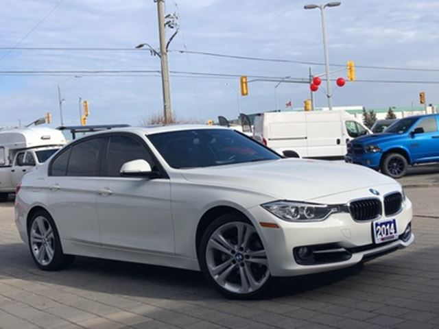2014 BMW 3 Series AWD**LEATHER**NAV**SUNROOF** in Mississauga, Ontario