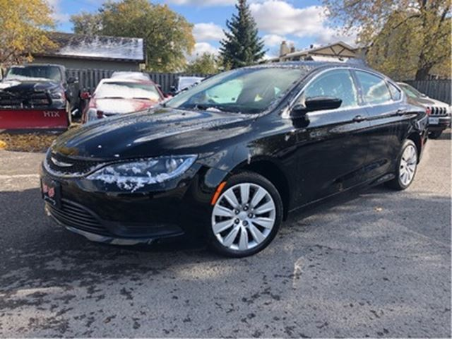 2015 CHRYSLER 200 LX    Auto   Power Group   Nice Local Trade In in St Catharines, Ontario