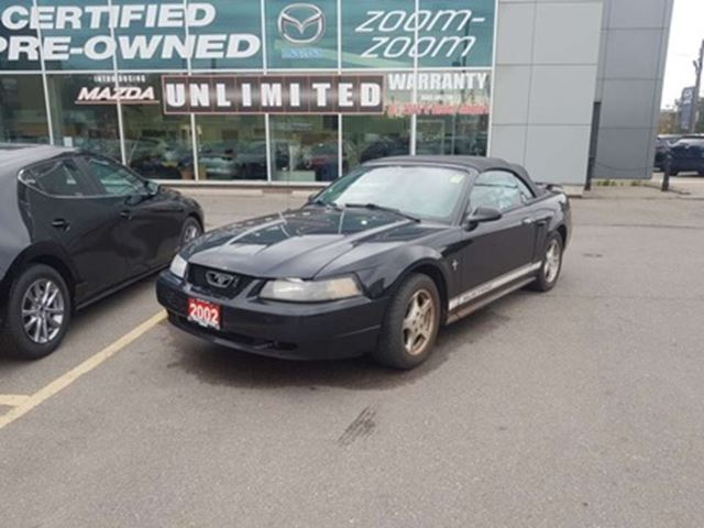 2002 Mustang V6 >> 2002 Ford Mustang V6 Cy 2dr Convertible As Isautomatic Power Group Alloy Toronto