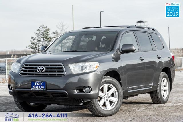 2008 Toyota Highlander V6 4WD 7-Seat R*Cam Extra Clean Serviced Certified in Toronto, Ontario