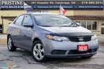 2010 Kia Forte EX 1 Owner Rust Free Alloys Bluetooth in Cambridge, Ontario