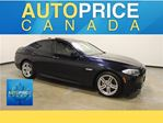 2012 BMW 5 Series i xDrive M-SPORT PKG|NAVI|HEADS UP DISPLAY in Mississauga, Ontario