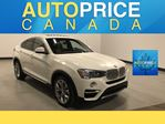 2016 BMW X4 xDrive28i NAVIGATION|MOONROOF|LEATHER in Mississauga, Ontario