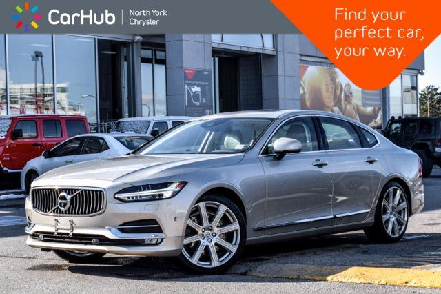 2017 VOLVO S90 T6 Inscription Nav Bowers&WilkinsSound Sunroof AdaptiveCruise 360Cam in Thornhill, Ontario