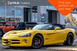 2005 Dodge Viper SRT10 6s_Manual Dual_Side_Exhaust Blk_Soft_Top Alpine_Sound  in Thornhill, Ontario