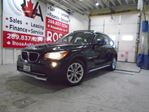 2012 BMW X1 AWD GAS SAVER 28i B-TOOTH  LOW KM SUNROOF LEATHER in Oakville, Ontario