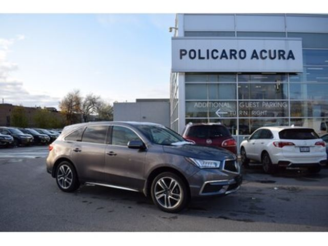 2018 Acura MDX Navi 1 owner, clean carfax! in