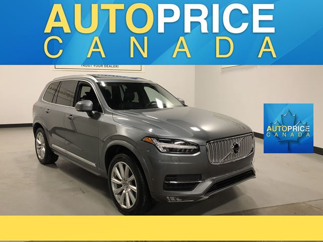 2016 VOLVO XC90 T6 Inscription 7PASS|NAVI|PANOROOF|LEATHER in Mississauga, Ontario