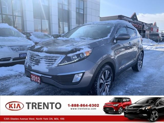 2012 KIA SPORTAGE AWD 4dr Auto EX LUXURY  ACCIDENT FREE   ONE OWNER in North York, Ontario