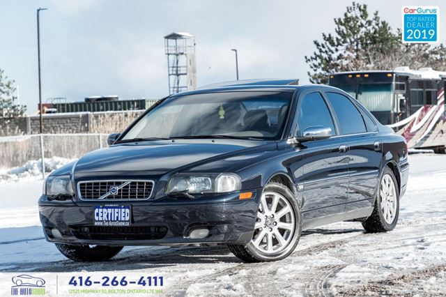 2006 VOLVO S80 AWD 2.5T Sunroof Leather AWD Certified Detailed in Toronto, Ontario