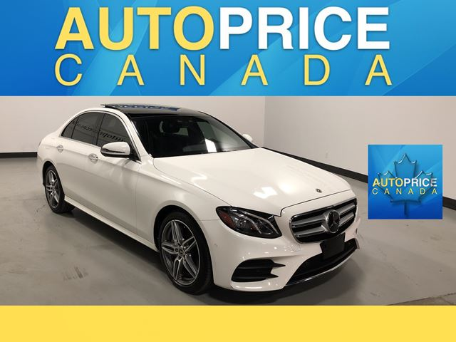 2019 MERCEDES-BENZ E-CLASS SPORT PKG NAVIGATION PANROOF in Mississauga, Ontario