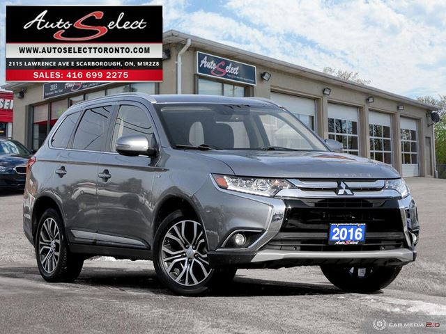2016 MITSUBISHI OUTLANDER GT AWD ONLY 65K! **7 PASSENGER** CLEAN CARPROOF** in Scarborough, Ontario