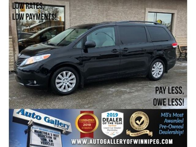 2014 Toyota Sienna XLE *AWD/B.tooth/Roof/Lthr/7Pass in