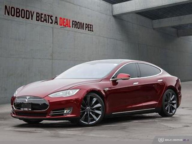 2012 TESLA MODEL S 85 Signature, 21Whls, Roof, Pwr Hatch, 80AMP, EV in Mississauga, Ontario