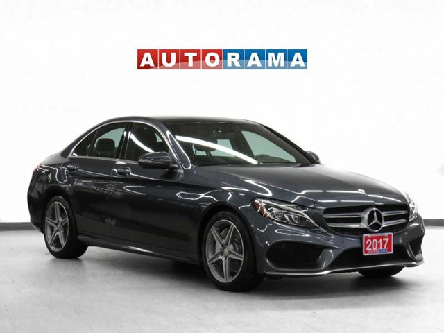 2017 MERCEDES-BENZ C-CLASS AMG Pkg 4WD Nav Leather Pano-Roof in North York, Ontario