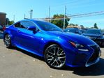 2015 Lexus RC 350 AWD F-SPORT.Navi.Camera.BSM.Leather.Roof.One Ow in Kitchener, Ontario