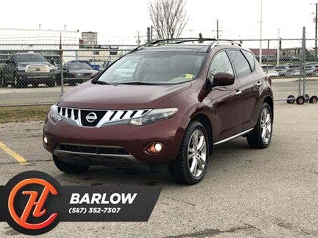 2009 NISSAN Murano LE / Leather / Back up cam / Sunroof in Calgary, Alberta