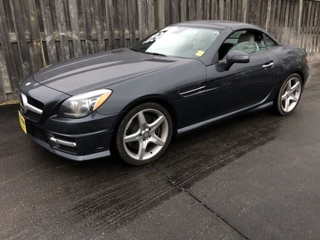 2014 MERCEDES-BENZ SLK-Class SLk350, Automatic, Leather, Convertible, 11,000km in Burlington, Ontario