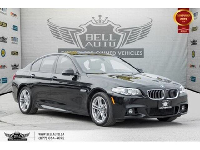 2015 BMW 5 SERIES 535i xDrive, AWD, M PKG, NO ACCIDENT, NAVI, BACK-U in Toronto, Ontario